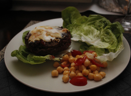Bacon & Cheese Herb Burgers