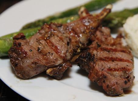 Kalyna's Mixed Herb Rack of Lamb