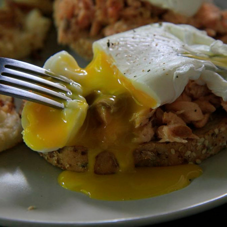 What to do with the leftover Salmon – the morning after