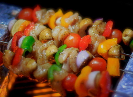 Chicken Shashlyky (Kebabs)