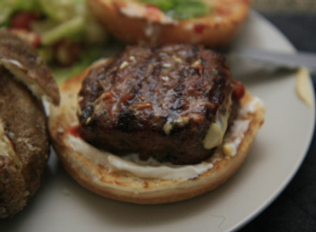 Lamburgers (for the lads at The Butcher!)