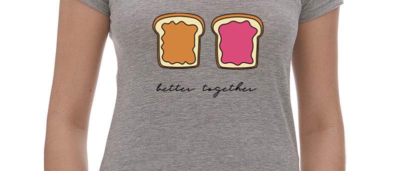 Better Together V-neck Tee
