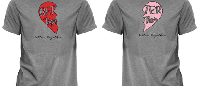 Better Together Valentines Tees