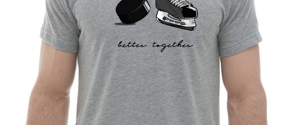 Better Together Puck & Skate T-shirts