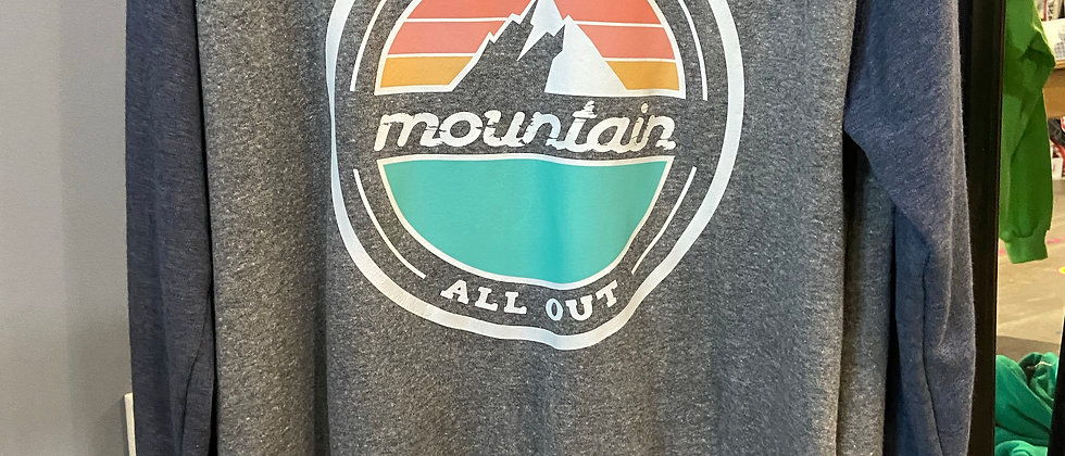 Choose Your Mountain Sweater