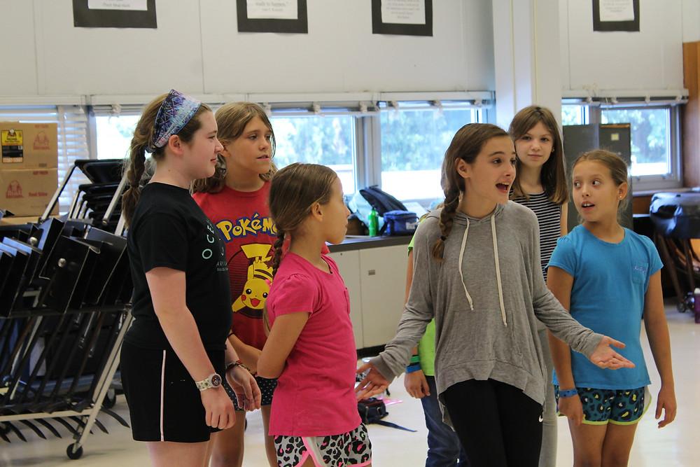 Musical Revue Rehearsal