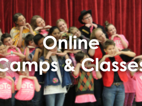 """Saying """"Yes, and…"""" to New Online Camps and Classes!"""