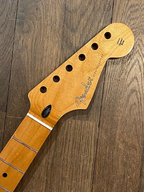"""Fender Stratocaster Hals """"Roasted Maple"""" mit Ahorn Griffbrett"""
