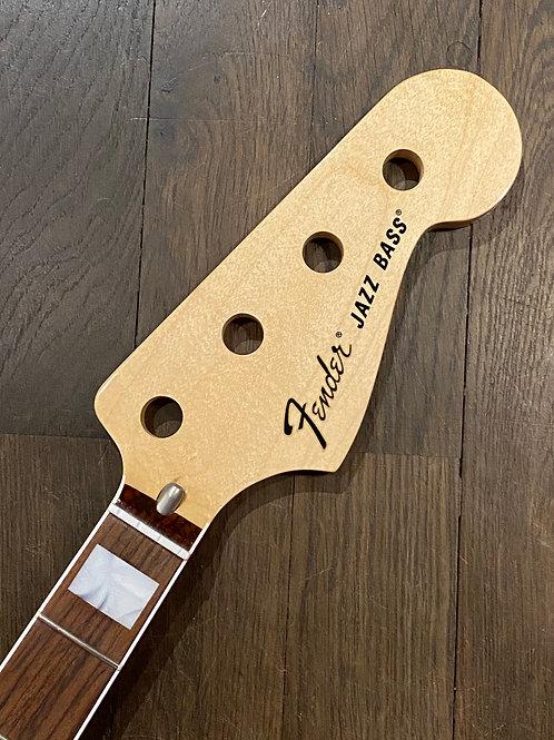 Fender Jazz Bass Hals mit Block Inlays und Palisander Griffbrett