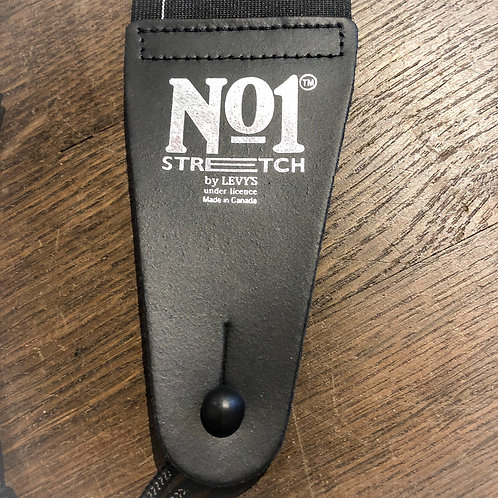 No.1 Stretch Gurt - MN01-BLK - Levy's made in Canada