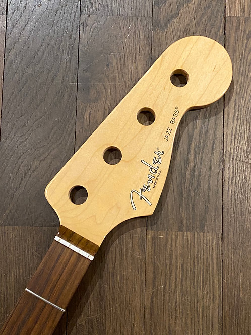Fender USA Jazz Bass Hals mit Palisander Griffbrett