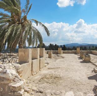 התלים המקראיים בגנים הלאומיים (2005) גן לאומי מגידו גן לאומי תל חצור גן לאומי באר שבע