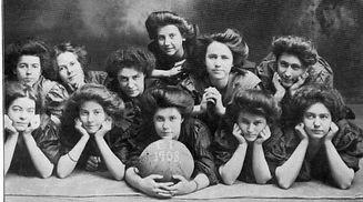 Columbia Female Institute team from 1908