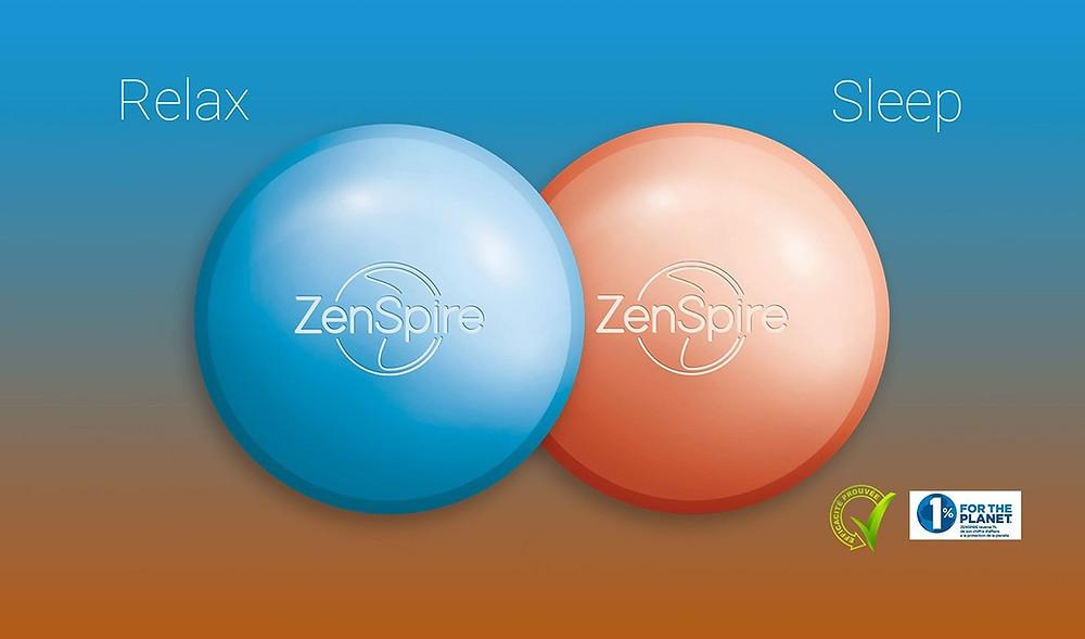 ZENSPIRE Relax et ZENSPIRE Sleep