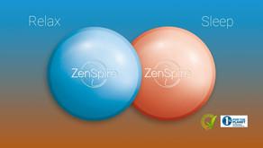 ZENSPIRE Relax et ZENSPIRE Sleep pour maîtriser votre stress et améliorer vos nuits