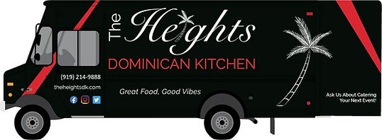 The Heights Dominican Food Truck Image