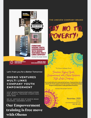 Youth Empowerment by Oheno Ventures Multi Links Company