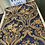Thumbnail: Golden Blue 3D flower wallpaper design