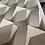 Thumbnail: Hexagonal silver and milk color design