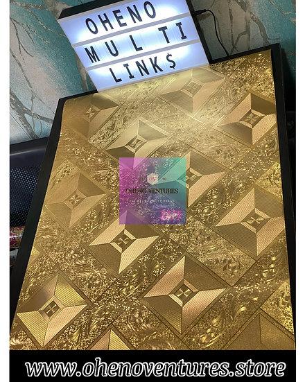 Diamond Gold 3d wallpaper design