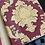 Thumbnail: Red flowered 3D wallpaper design