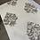 Thumbnail: Cream black flower wallpaper design