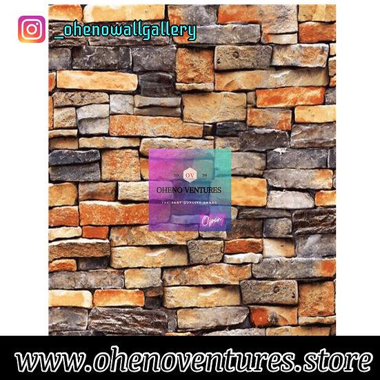 Tiny bricks 3d wallpaper design