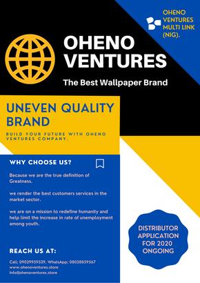 Why choose Oheno Ventures Company?