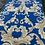 Thumbnail: Blue Silver flower design