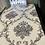 Thumbnail: Blue lined black & white 3d flower design