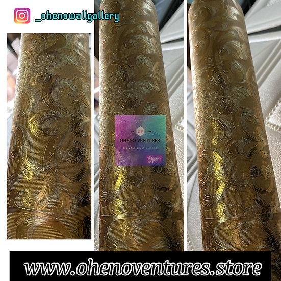 Gold Flower 3D wallpaper design