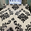 Thumbnail: White and Black flower shining design
