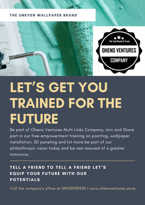 Free Empowerment Training of Oheno Ventures Multi Links Staff