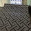 Thumbnail: Black & Silver T shaped wallpaper design