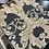 Thumbnail: Dark brown 3D Gold wallpaper design