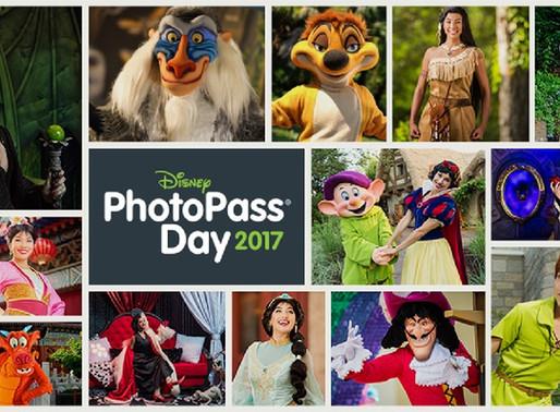 Encontro com Personagens Raros da Disney no Dia do PhotoPass