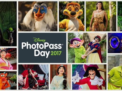 Encontro com Personagens Raros da Disney no Dia do PhotoPass