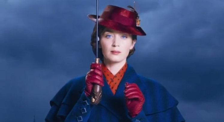 Emily Blunt em Mary Poppins Returns