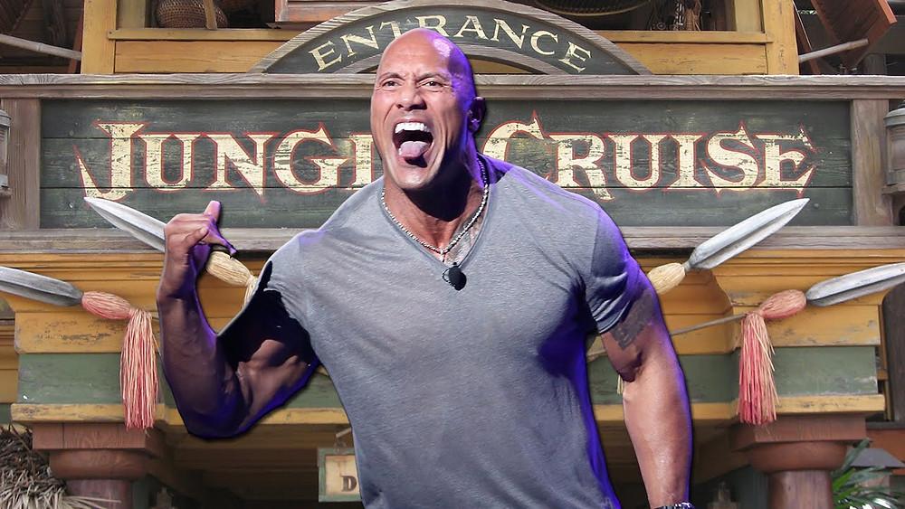Dwayne Johnson em Jungle Cruise