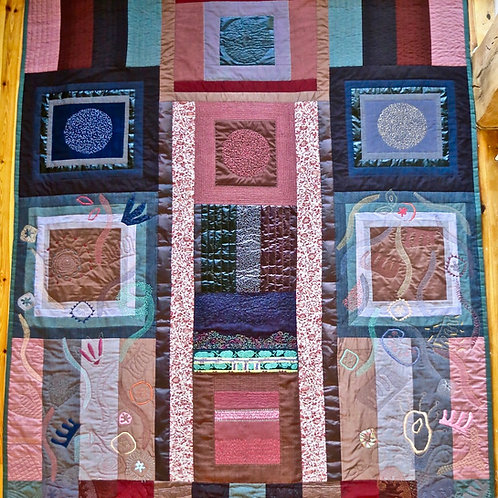 Frame for MAIO Embroidery Quilt