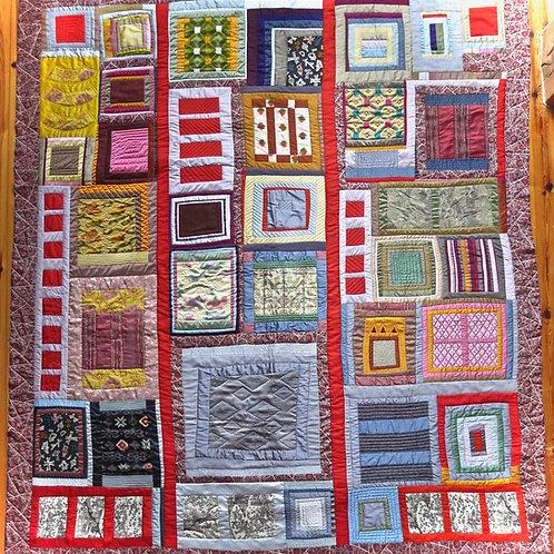 Japanese Silk Quilt