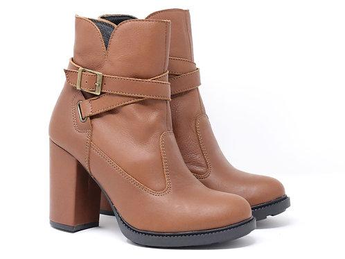 Gaia - Leather (Medium heel)