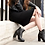 Thumbnail: Gaia - Leather (Medium heel)