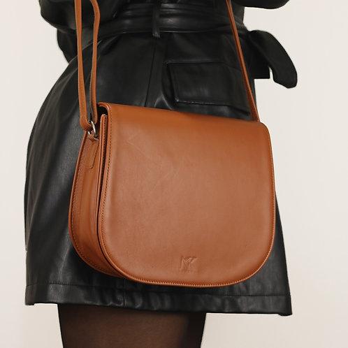Haeley Brown - Crossbody Leather Bag