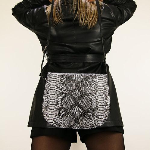 Haeley Black- Crossbody Leather Bag