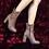 Thumbnail: Hebe - Leather (Medium heel)