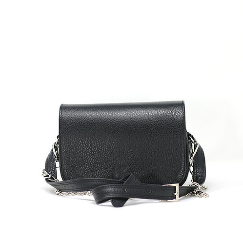Nia Black - leather Beltbag