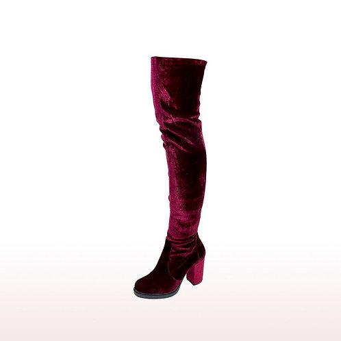 Artemis - Velvet boots