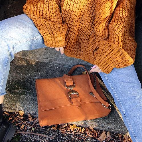 Aelia - Suede Leather Clutch