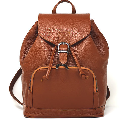 Harper Brown - Leather Backpack